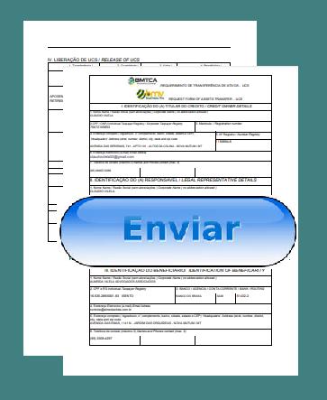 Enviar (Upload) o PEDIDO DE TRANSFERENCIA DE UCS depois de assinado e com firma reconhecida
